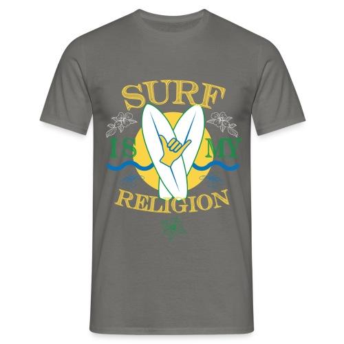Maglia Surf is my religion - Uomo - Maglietta da uomo