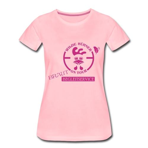 Wilde Hühner - Frauen Premium T-Shirt