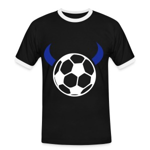 Devil Ball T'shirt (black) - Men's Ringer Shirt