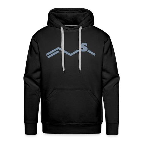 Chemical formula - garlic - Men's Premium Hoodie