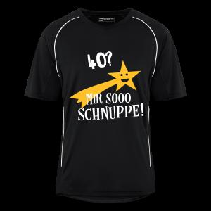 40 Jahre Geburtstag Geschenk Spruch - Mir Schnuppe T-Shirts