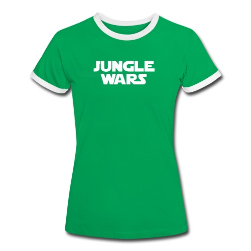 official Junglewars-Shirt 2018 - GIRLS - green/white - Women's Ringer T-Shirt