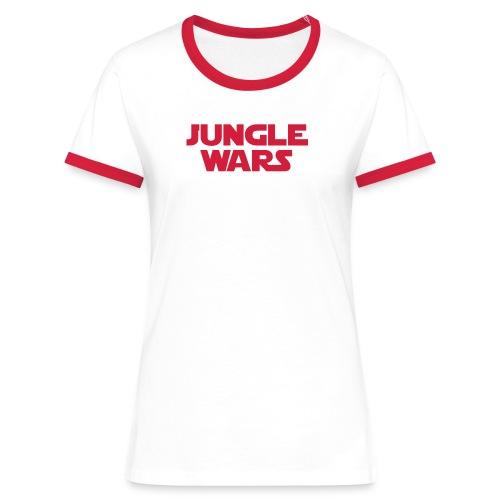 official Junglewars-Shirt 2018 - GIRLS - white/red - Women's Ringer T-Shirt