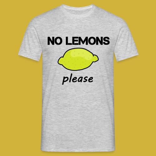 No Lemons T-Shirt - Men's T-Shirt
