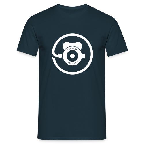 ICH ATME PRESSLUFT! (Navy) - Männer T-Shirt