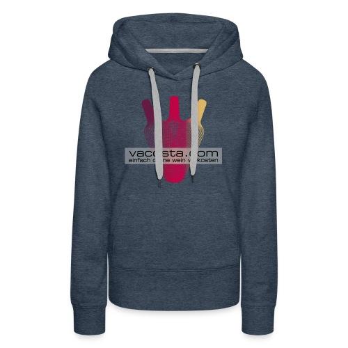 vacosta.com  ladies hoody - Frauen Premium Hoodie