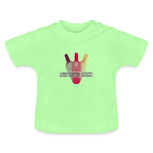 vacosta.com BabyT-Shirt Logo zentral - Baby T-Shirt