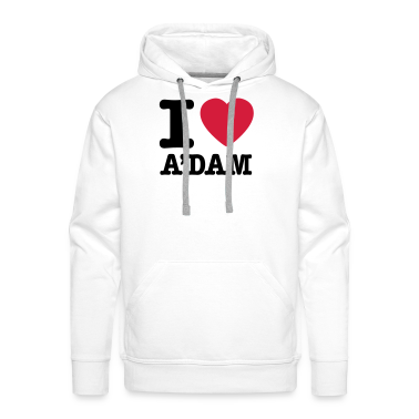 White i love amsterdam Hoodies & Sweatshirts