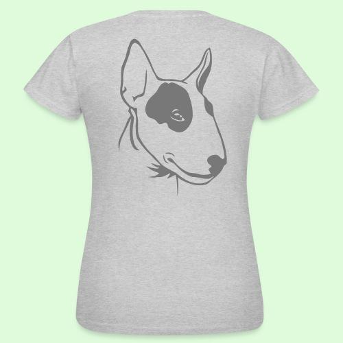 Profil de Bull Terrier - T-shirt Femme