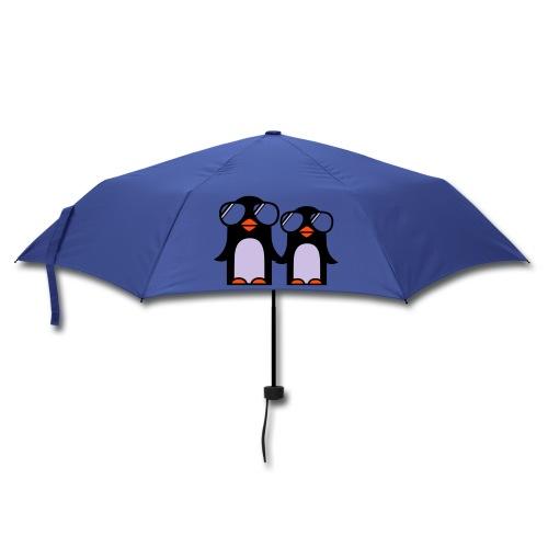 funky penguin umbrella - Umbrella (small)