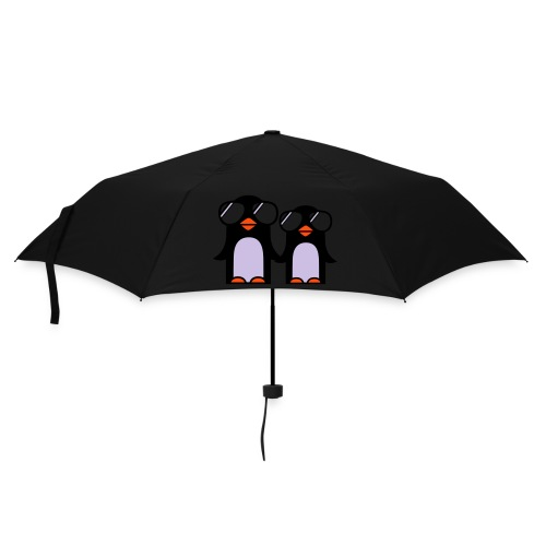 funky penguin umbrella - Umbrella (small)