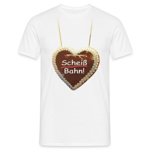 Scheiß Bahn - Männer T-Shirt