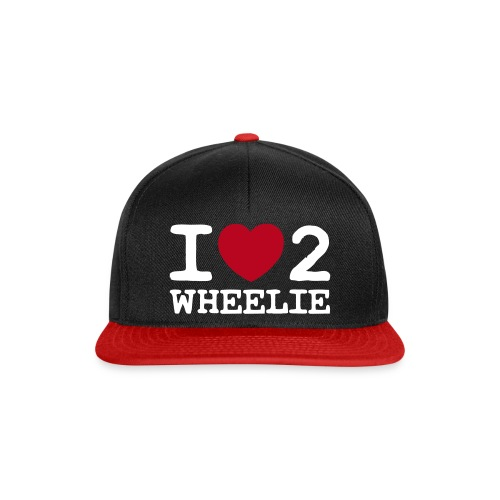 I love 2 Wheelie - Snapback Cap