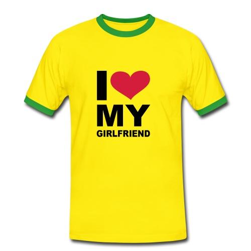 Brasilian - Camiseta contraste hombre