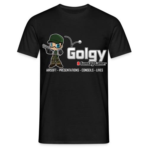T-Shirt Basique Homme V2 - Golgy - T-shirt Homme