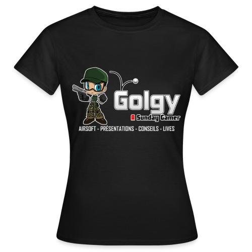 T-Shirt Basique Femme V2 - Golgy - T-shirt Femme