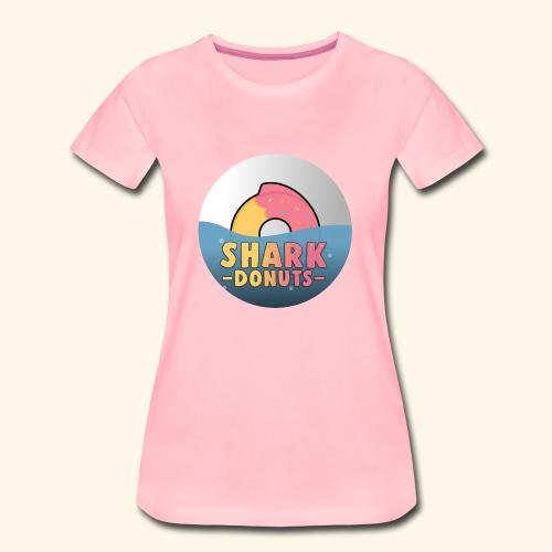 Shark Donuts - T-shirt Premium Femme
