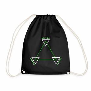 Alien Triangle - Turnbeutel - Turnbeutel