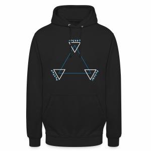 Alien Triangle - Hoodie - Unisex Hoodie
