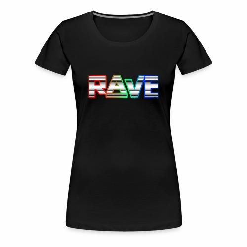 Rave Rainbow - T-Shirt - Frauen Premium T-Shirt