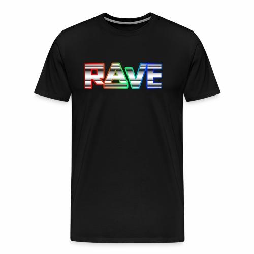Rave Rainbow - T-Shirt - Männer Premium T-Shirt