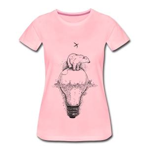 Der letzte Eisbär T-Shirts - Frauen Premium T-Shirt