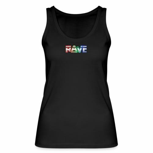Rave Rainbow - Tanktop - Frauen Bio Tank Top von Stanley & Stella