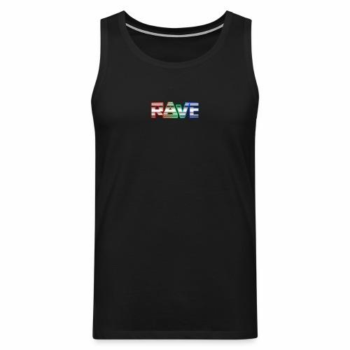 Rave Rainbow - Tanktop - Männer Premium Tank Top