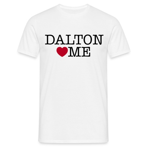 Dalton Loves Me heren t-shirt - Mannen T-shirt