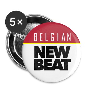 Belgian New Beat OB 56 - Buttons groot 56 mm