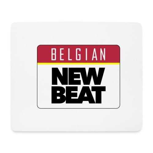Belgian New Beat Mouse Mat - Muismatje (landscape)