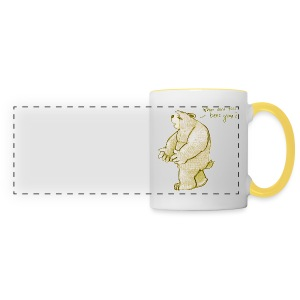 where are the bees gone? - Panoramic Mug