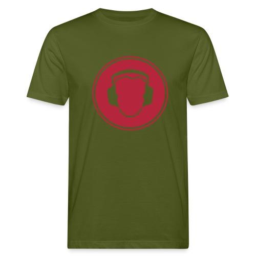 DJ Laut! - Männer Bio-T-Shirt