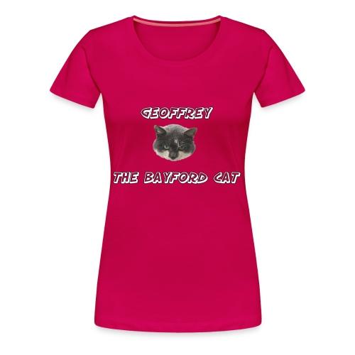 Geoffrey The Bayford Cat - Women's Premium T-Shirt