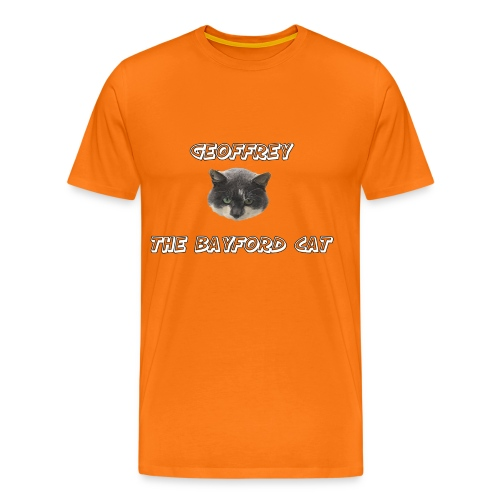Geoffrey The Bayford Cat For the Sadistic Male Cabbage Collector - Men's Premium T-Shirt