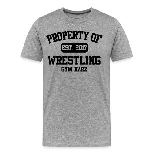Wrestling Gym Property Shirt - Männer Premium T-Shirt
