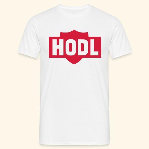 HODL TO THE MOON - Miesten t-paita