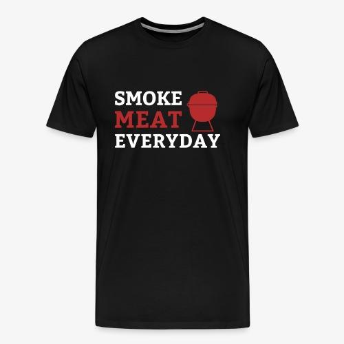 Smoke Meat Everyday - Männer Premium T-Shirt