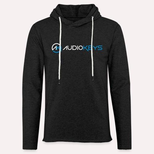 Sweet-Shirt avec logo et texte AudioKeys 2018 - Sweat-shirt à capuche léger unisexe