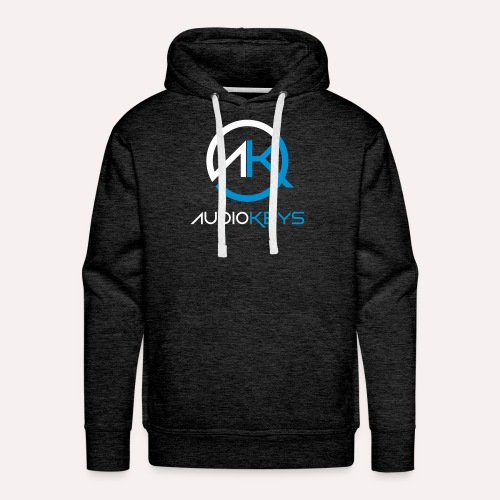 AK 18 Sweet-Shirt AudioKeys 2018 - Sweat-shirt à capuche Premium pour hommes