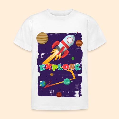 Explore  - Kinder T-Shirt