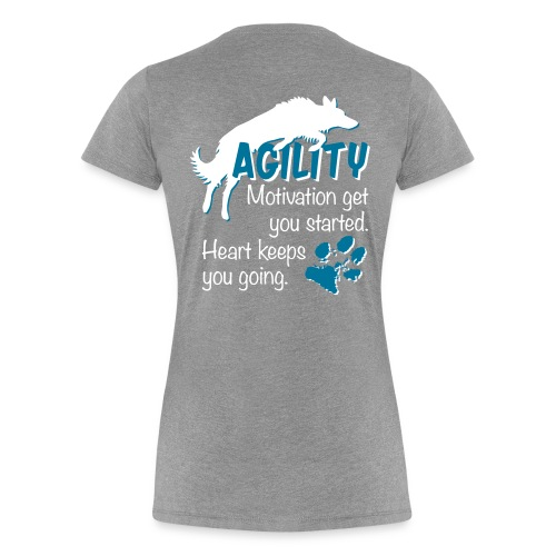 motivation & heart - Frauen Premium T-Shirt