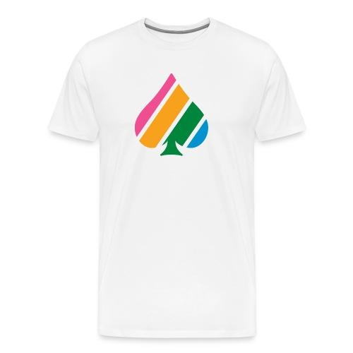 Colored Stripes T-shirt - Men's Premium T-Shirt
