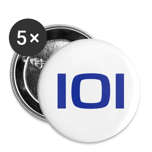 101 badges - Buttons/Badges mellemstor, 32 mm (5-pack)