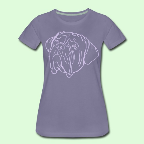 Face de Dogue de Bordeaux - T-shirt Premium Femme