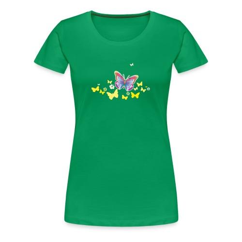 Schmetterling Falter Insekten Frühling Sommer - Women's Premium T-Shirt