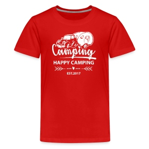 Happy Camping EST.2017 - TEEN T-Shirt - Teenager Premium T-Shirt