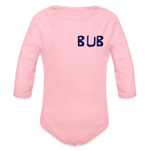 Bub - Baby Bio-Langarm-Body