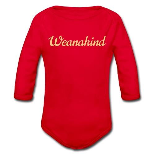 Weanakind - Baby Bio-Langarm-Body