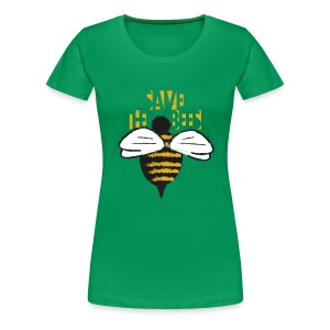 Save the Bees - Women's fit - Women's Premium T-Shirt